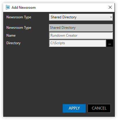 Autoscript WinPlus Integration   Rundown Creator   broadcast